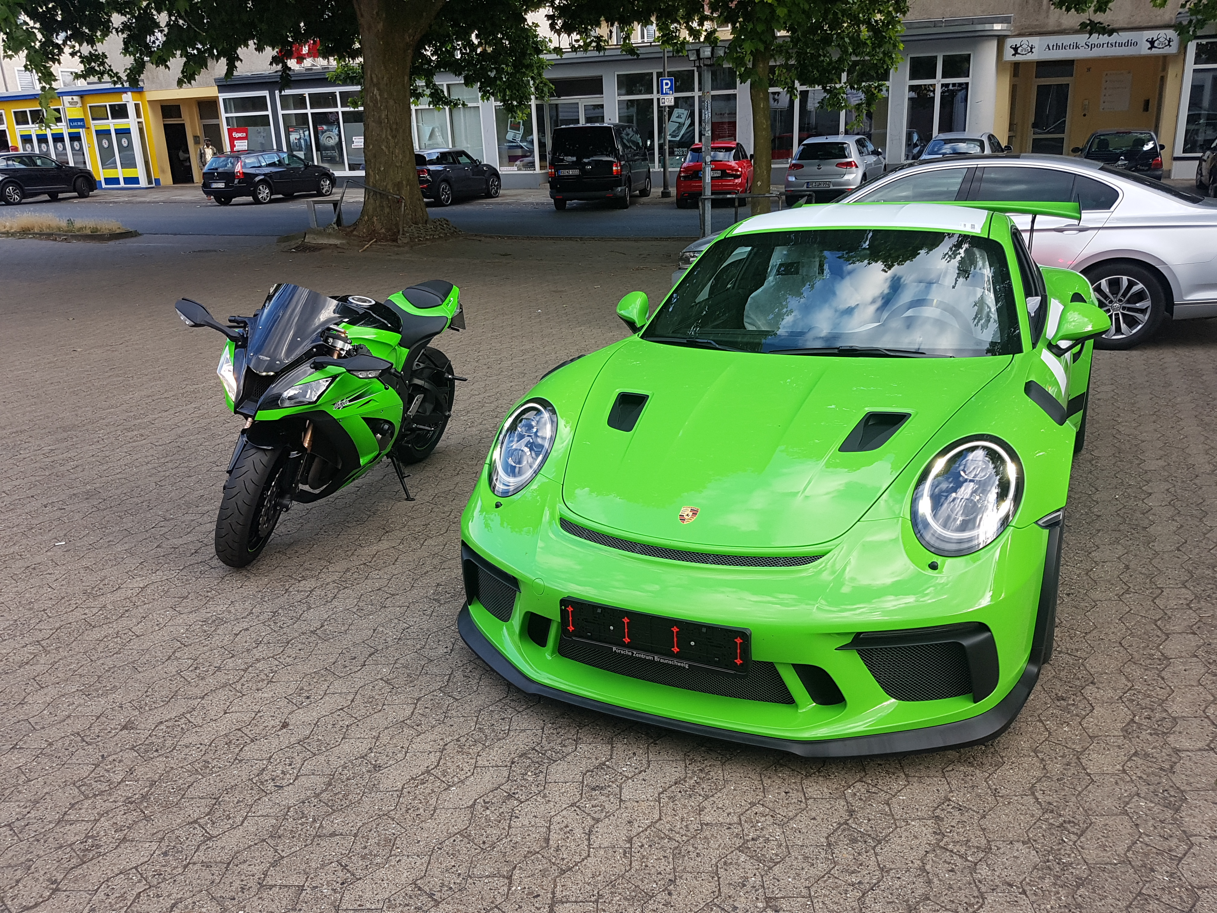 Porsche 911 GT3 RS Pflege