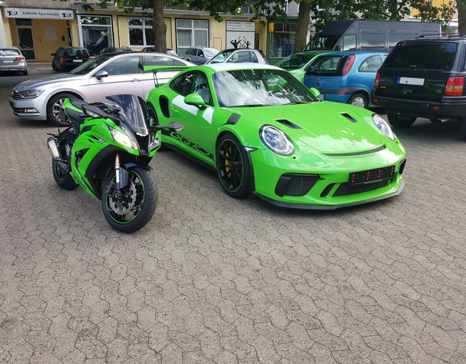 Porsche 911 GT3 RS Neuwagen Finish