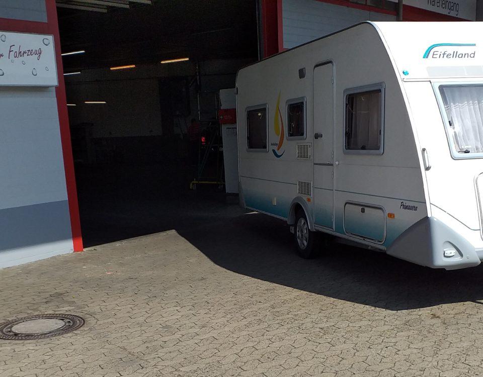Wohnwagen / Wohnmobil Wäsche