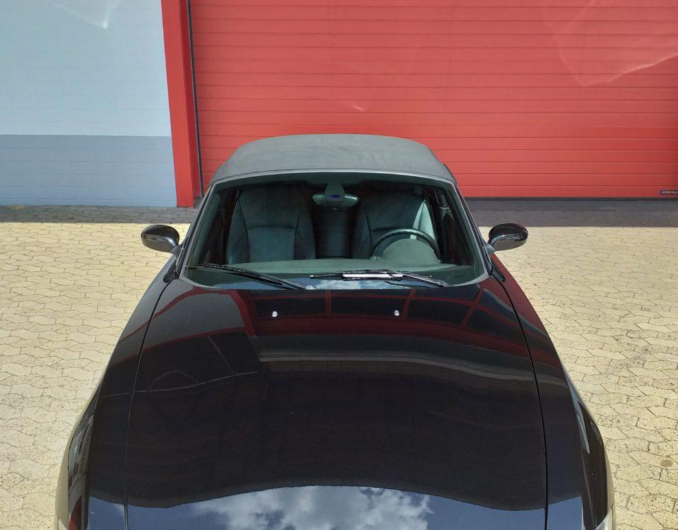 BMW Z4 auf Hochglanz gebracht und einen klaren Durchblick verschafft