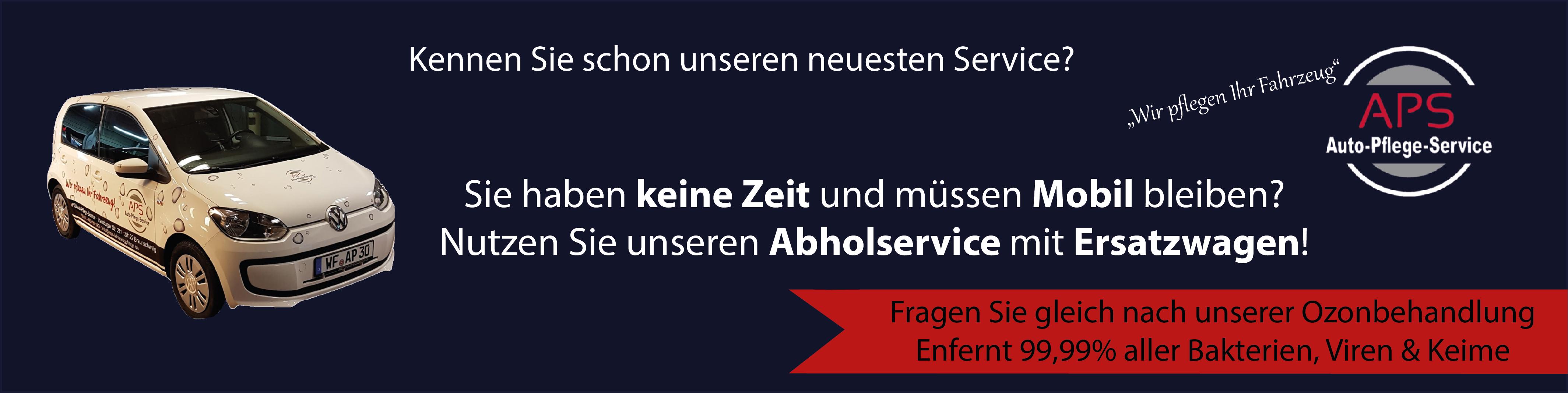 Abholservice Banner