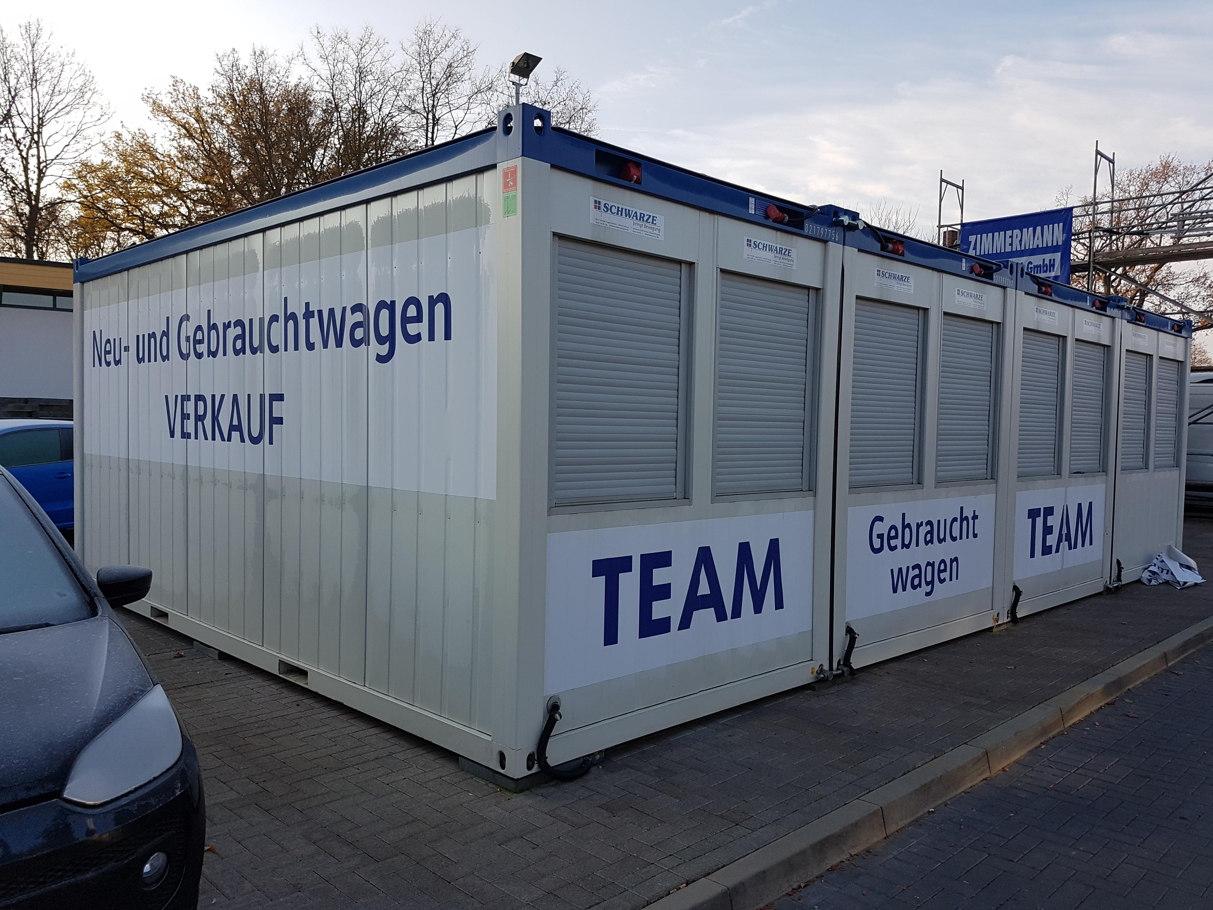 Container Beschriftung Entschriftung