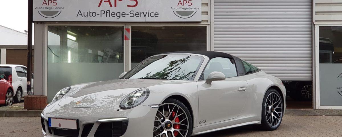 Porsche 911 Carrera 4 GTS Versiegelung